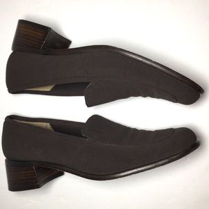 Stuart Weitzman brown loafer FREE with purchase